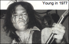 Neil Young in 1977